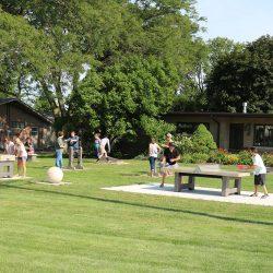 Outdoor games pocket park